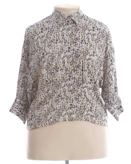 Chemise femme manches 3/4